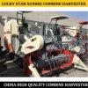 중국 제조자 유형 4lz-5g 고무는 밥과 밀을%s 농장 결합 수확기 Luckystar Xg988z를 추적했다