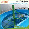 託児所の運動場装置大人によって使用される水スライド