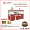 Automatische Plastic VacuümMachine Thermoforming voor de Koffer Shell van de Bagage