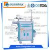Chariot à ABS/chariot à anesthésie/chariot médical/chariot Emergency chaud (GT-TA2162A)