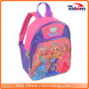 Nova série de personagens de desenho animado Contraste Color Kids School Bag com Princess Pattern