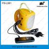 Миниое солнечное аварийное освещение с передвижным заряжателем для землетрясения