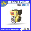 Horizontale de 4-slag van Air Cooled Dieselmotor L192f (e) voor Machinery