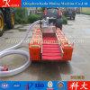 Pompe de sable de fleuve d'utilisation d'extraction de l'or avec des pontons