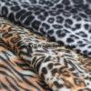 Il tessuto della spazzola con pelle animale progetta il panno morbido polare