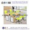 Таблица рабочей станции стола офиса штата комбинации деревянная (WS-06#)