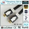 Le transfert normal HDMI plat de moulage de PVC câble M/M