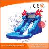 수영장 (T11-108)를 가진 아이를 위한 팽창식 두 배 파 물 미끄럼