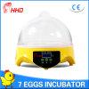 Ce инкубатора яичка цыпленка Hhd малый популярный прошел (YZ9-7)