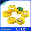 Disco instantâneo de venda superior do USB do PVC de Emoji da amostra livre