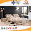 Base moderna elegante do couro da mobília do quarto do apartamento (UL-FT906B)