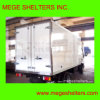Fiberglass Dry Van Body/Truck Lichaam