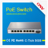 IPのカメラ管理対象外のPoeの速いイーサネットスイッチ8 PoeポートScのファイバーポート