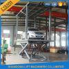 Elevador dobro móvel hidráulico do carro da plataforma de Inground com Ce