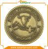 Изготовленный на заказ золотая монетка высокого качества с спортами