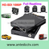 Car CCTV System、Support 3G 4G GPS TrackingのためのHD 1080P WiFi Mini 4 Channel Mdvr
