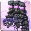 Armadura natural del pelo del color de la onda floja brasileña de la Virgen