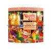 Oblate Süßigkeit-Zerstampfung-Metallzinn-Kasten