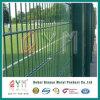 Doppeldraht-geschweißtes Ineinander greifen-Panel-/Double-Draht-Zaun verwendet für das Garten-Fechten