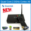 TV Box avec la reproduction vidéo d'Android4.4 Quad Core Support 3D4k