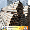 Migliore conduttura rotonda d'acciaio saldata nera sottile di vendita della parete ERW di Alibaba