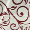 Цветки отрезока печатание ткани фланели ватки тканей тканья Coral