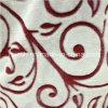 Tejidos textiles coralina del paño de franela impresión tela flores cortadas
