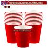 Украшение свадебного банкета бумажных стаканчиков поставкы партии красное (W1003)