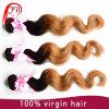 Объемная волна Ombre волос девственницы ранга 7A Youtube горячая бразильская