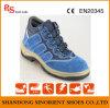As sapatas de segurança de aço azuis as mais baratas com certificado RS704 do Ce