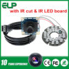O VGA CMOS IR Cut de Mjpeg 60fps & USB Camera Module Ov7725 do diodo emissor de luz Board do IR