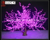 Luz artificial del árbol del flor de cereza LED