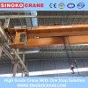 Pont roulant de double poutre appliquée d'atelier avec les machines de levage d'élévateur électrique