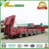 bas lit plat 80t-100t/de Lowboy transport de remorque camion semi (ELEP9436LBP)
