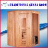 Zaal van de Sauna van de Ceder van Canada de Houten Droge (bij-8610)
