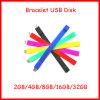 128g de Aandrijving van de Flits van de Manchet USB van de Armband van de Stok van het Geheugen van het silicium USB