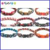 Bracelets titaniques de corde de sport d'université de NCAA (P069)