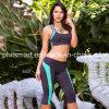 Pantalon courant de guêtres de forme physique de séance d'entraînement de yoga des collants des femmes de Silim