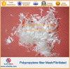 Fibra del acoplamiento del polipropileno para el concreto y el mortero