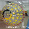 Bola inflable hermosa y de la seguridad de Zorb