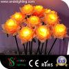 DEL Rose fleurit la lumière de décoration