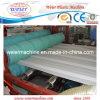 Perfil do plástico WPC e linha de madeira da extrusão da produção da extrusora da placa