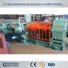 Machine en caoutchouc de moulin de mélange d'acier de bâti