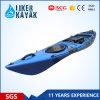 Venta al por mayor segura del kajak de la pesca de China de la calidad fantástica