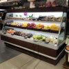 Congelatore aperto unito commerciale di verticale del refrigeratore della frutta del supermercato della Cina