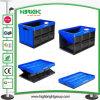 Haltbarer zusammenklappbarer Plastikrahmen für logistisches und Transport