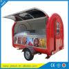 Un mejor precio, cocina móvil del carro de los alimentos de preparación rápida para la venta