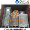 Cartulina gris de la hoja de la calidad del grado para la producción del rectángulo