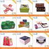 卸し売りハンドメイドのカスタマイズされたペーパー菓子器(AZ-121501)