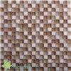 ブラウンの正方形のガラスモザイク石(TG-OWD-522)
